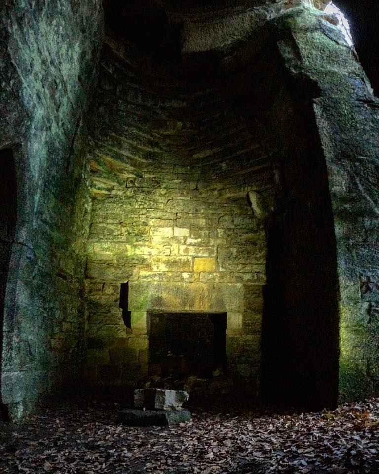 Hartburn Glebe Grotto Fireplace