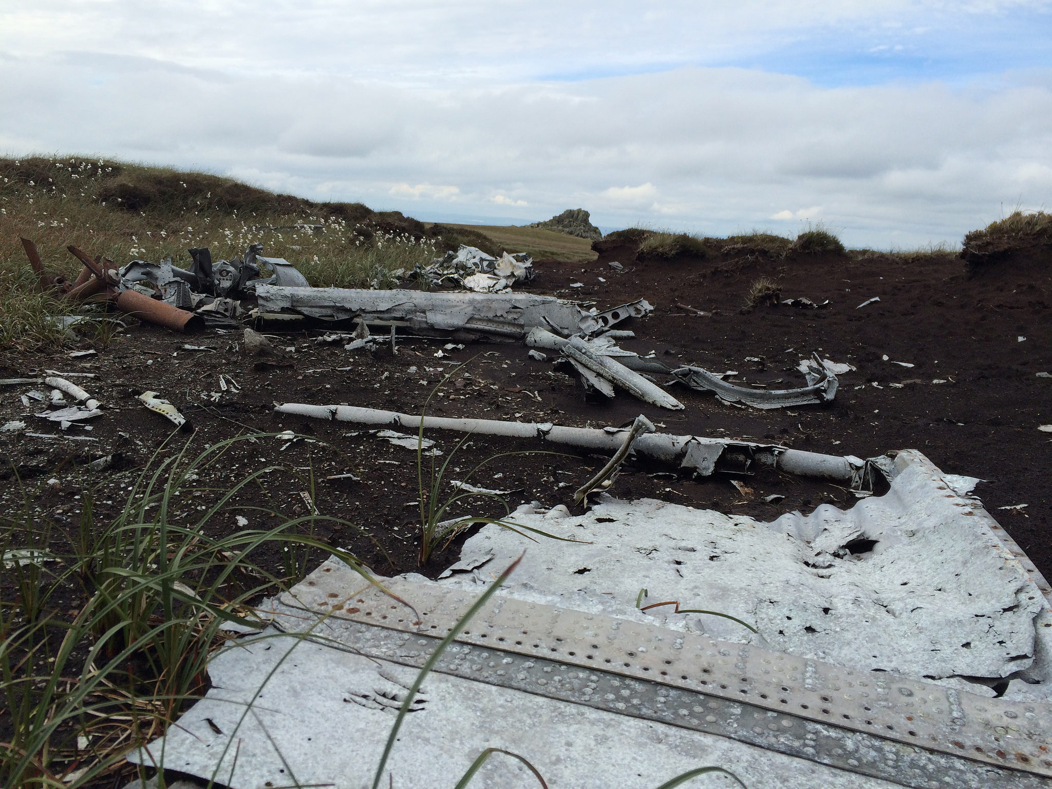 Cheviots: Flying Fortress Wreckage Pt 2