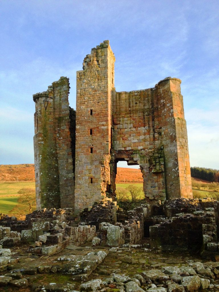 twolocalexplorers went for an adventure at Edlingham Castle in Northumberland