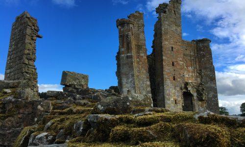 Alnwick: Edlingham Castle