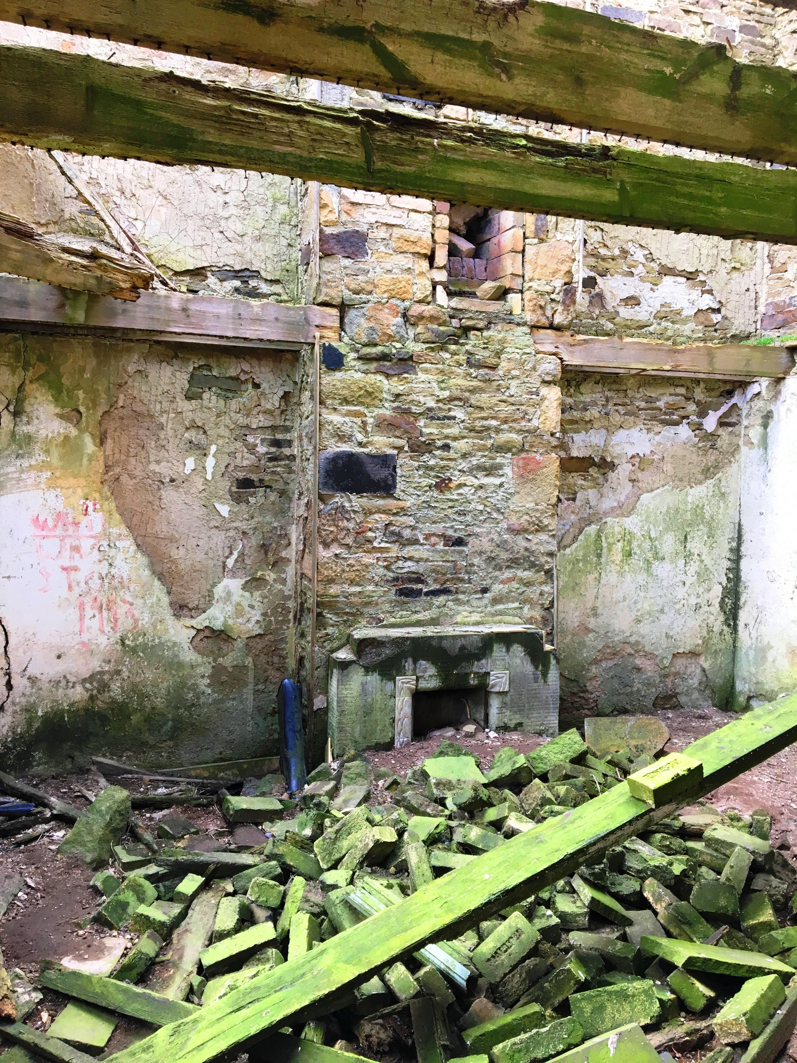 Sandyford abandoned farmhouse near Edmundbyers